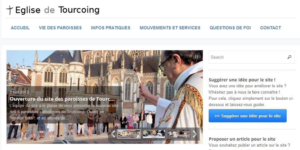 Site des paroisses de Tourcoing