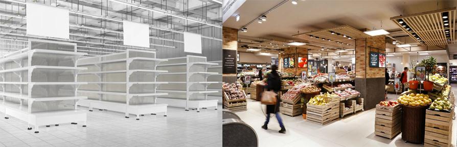 Vous préférez un supermarché bien construit ou un supermarché qui vend bien ?